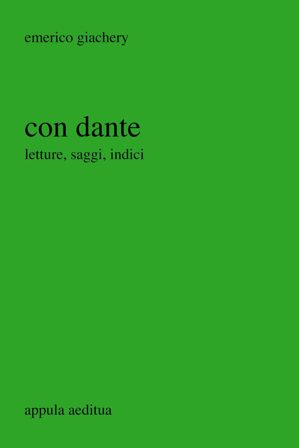 con dante Giachery cover